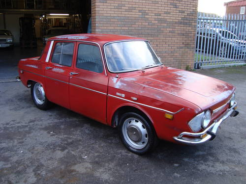 RENAULT 10 1.1 4DR LHD US IMPORT (1971) RED EXC PATINA! SOLD (picture 1 of 6)