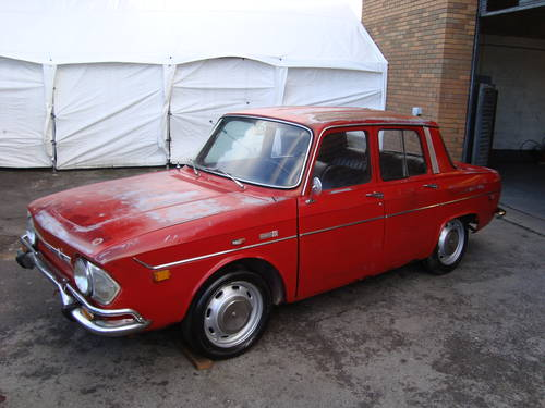 RENAULT 10 1.1 4DR LHD US IMPORT (1971) RED EXC PATINA! SOLD (picture 2 of 6)
