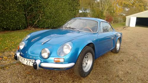 1971 Alpine Renault A110 1300cc For Sale (picture 1 of 6)