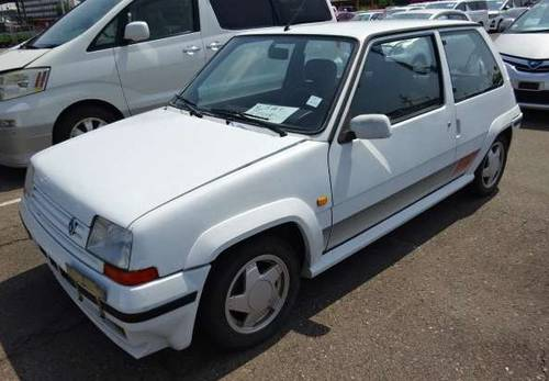1990 RENAULT 5 GT TURBO ONLY 58000 MILES LHD FRESH IMPORT For Sale (picture 5 of 5)