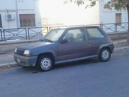 1986 Renault 5 GT TURBO 135,000Kms For Sale (picture 1 of 6)