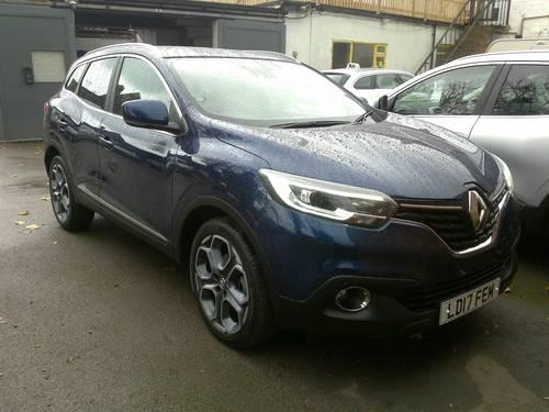 2017 (17)  Renault Kadjar Dynamique S Nav dCi 130 SOLD (picture 1 of 6)