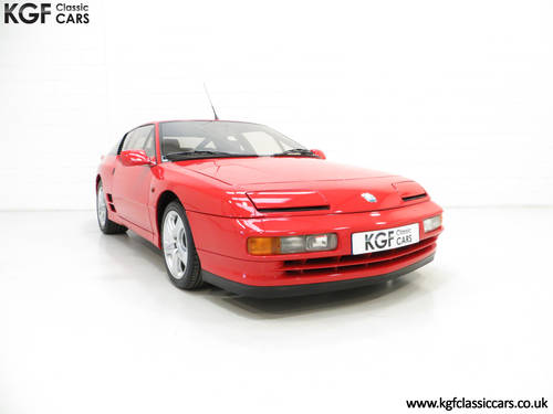 1991 One Of Only 67 UK RHD Renault Alpine A610 Turbos SOLD (picture 1 of 6)