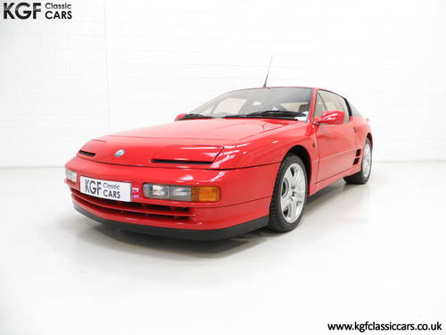 1991 One Of Only 67 UK RHD Renault Alpine A610 Turbos SOLD (picture 2 of 6)