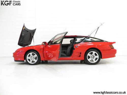 1991 One Of Only 67 UK RHD Renault Alpine A610 Turbos SOLD (picture 3 of 6)