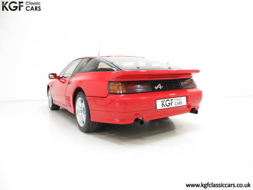 1991 One Of Only 67 UK RHD Renault Alpine A610 Turbos SOLD (picture 4 of 6)