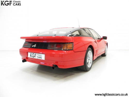 1991 One Of Only 67 UK RHD Renault Alpine A610 Turbos SOLD (picture 5 of 6)