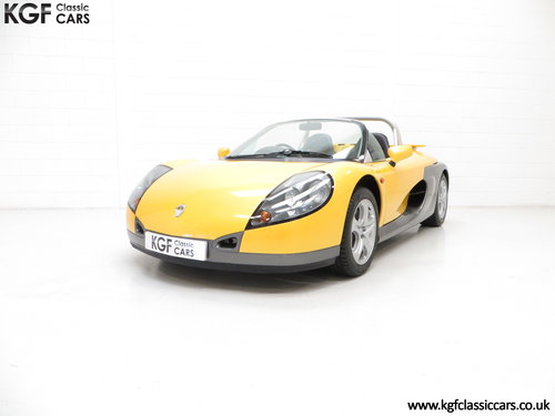 1997 One of 100 UK RHD Renault Sport Spiders with 3,608 Miles SOLD (picture 2 of 6)