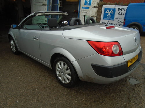 2007 07 PLATE Renault Convertible RXE 1.6cc VVT PETROL ENGINENICE For Sale (picture 1 of 6)