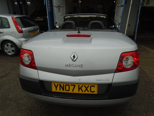 2007 07 PLATE Renault Convertible RXE 1.6cc VVT PETROL ENGINENICE For Sale (picture 3 of 6)