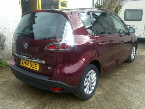 2014 Renault Scenic Dynamique TomTom dCi 110 SOLD (picture 2 of 6)