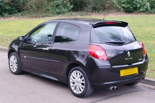 2007 Renault Clio 1.4 16v Dynamique S. 3 Door. Black. Body Kit..  SOLD (picture 6 of 6)