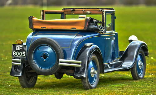 1927 Renault Monastella Cabriolet For Sale (picture 3 of 6)