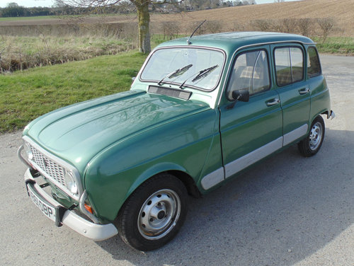1983 Renault 4 GTL SOLD (picture 1 of 6)