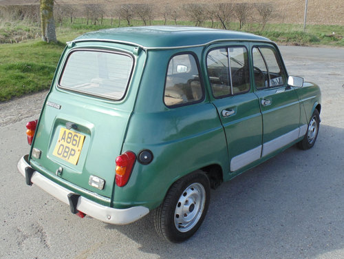 1983 Renault 4 GTL SOLD (picture 3 of 6)