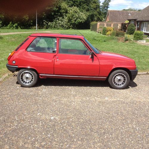 1980 Four genuine original gordini alloy wheels  For Sale (picture 1 of 6)
