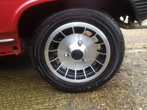 1980 Four genuine original gordini alloy wheels  For Sale (picture 2 of 6)