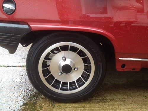 1980 Four genuine original gordini alloy wheels  For Sale (picture 4 of 6)