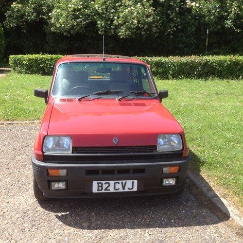 Renault 5 gordini alphine bumper For Sale (picture 1 of 4)