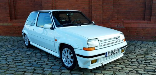 1991 RENAULT 5 GT TURBO RARE * ONLY 68000 MILES * LEFT HAND DRIVE For Sale (picture 1 of 6)
