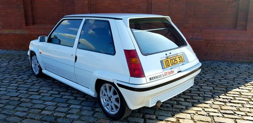 1991 RENAULT 5 GT TURBO RARE * ONLY 68000 MILES * LEFT HAND DRIVE For Sale (picture 2 of 6)