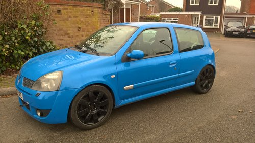 2005 Clio 182 cup sport For Sale (picture 1 of 6)