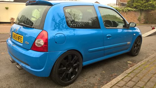 2005 Clio 182 cup sport For Sale (picture 2 of 6)