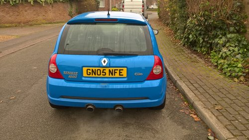 2005 Clio 182 cup sport For Sale (picture 4 of 6)