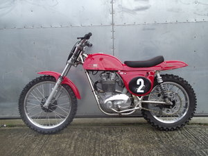 Lot 73- A 1967/8 Rickman Metisse BSA 441cc Victor - 1/6/2019 For Sale by Auction