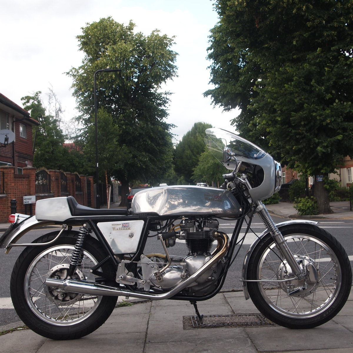 1968 Metisse Triumph 650 Cafe Racer, Chassis No. 204C For Sale (picture 1 of 6)