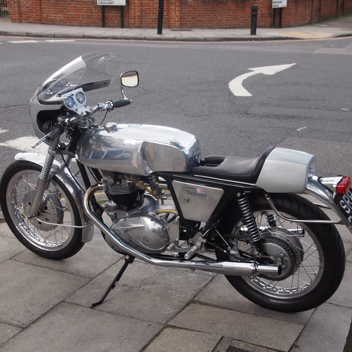 1968 Metisse Triumph 650 Cafe Racer. RESERVED FOR RUSSELL. SOLD (picture 4 of 6)