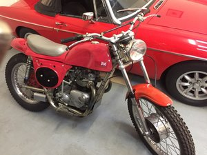 1991 Rickman Metisse Triumph 500 T100 Engine Recreation