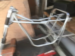 1968 Rickman bultaco frame and forks copy
