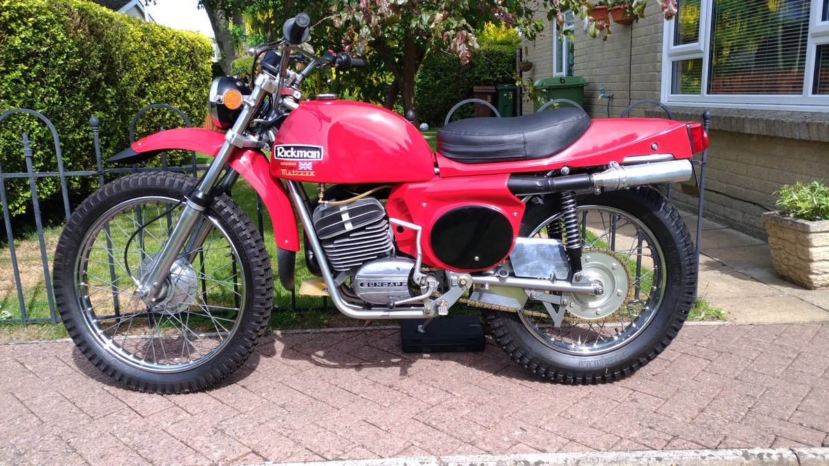 1974 Rickman Metisse 125 ISDT Six-Day  For Sale (picture 1 of 6)