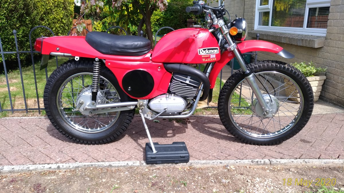 1974 Rickman Metisse 125 ISDT Six-Day  For Sale (picture 2 of 6)