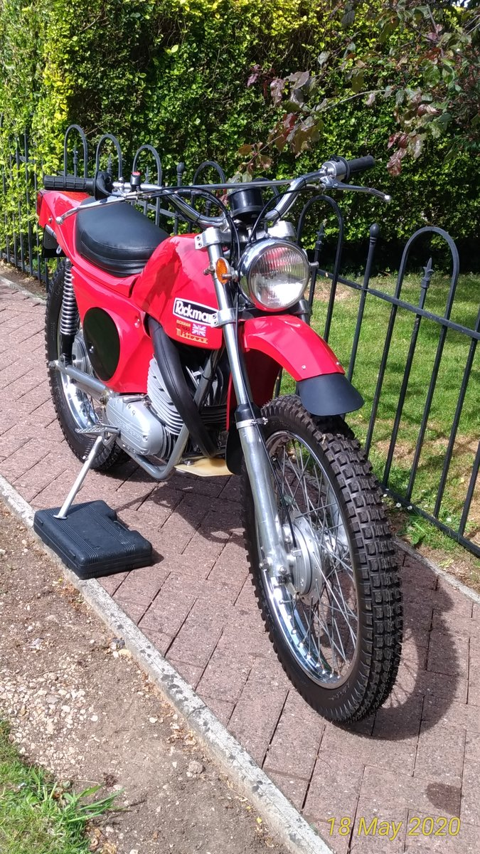 1974 Rickman Metisse 125 ISDT Six-Day  For Sale (picture 5 of 6)