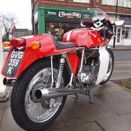 1972 Street Metisse Rickman Eight Valve TR6 700cc. For Sale (picture 1 of 6)