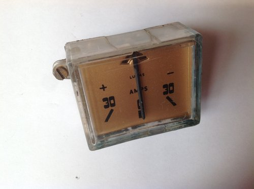 Riley RM Ammeter  SOLD (picture 1 of 1)