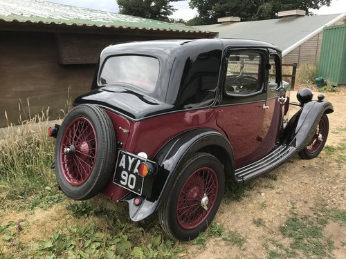1934 Riley Nine Monaco - Now Sold! SOLD (picture 2 of 6)