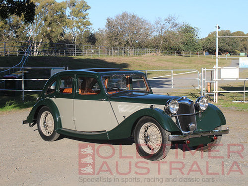 1936 Riley Kestrel 12/4 1½ Litre Sports Saloon For Sale (picture 1 of 6)