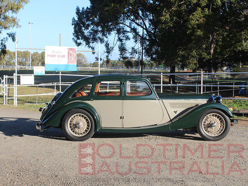 1936 Riley Kestrel 12/4 1½ Litre Sports Saloon For Sale (picture 2 of 6)