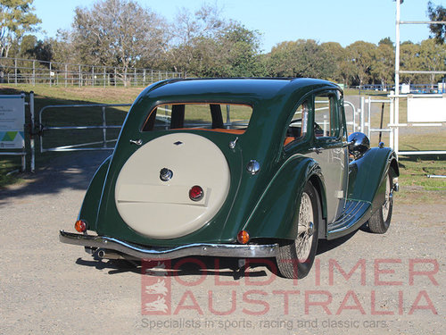 1936 Riley Kestrel 12/4 1½ Litre Sports Saloon For Sale (picture 3 of 6)