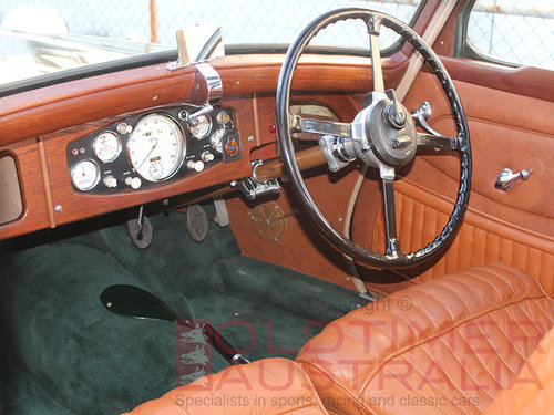 1936 Riley Kestrel 12/4 1½ Litre Sports Saloon For Sale (picture 4 of 6)