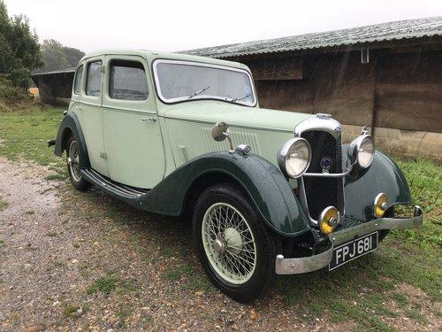1937 Riley Monaco - rare overdrive gearbox  SOLD (picture 5 of 6)