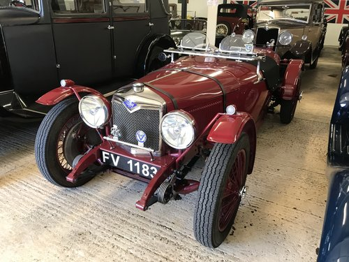 1930 Riley Nine 'Brooklands Evocation' NOW SOLD SOLD (picture 1 of 6)
