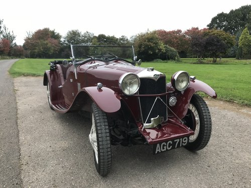 1933 Riley Nine March Special - History over 60 years! SOLD (picture 1 of 6)