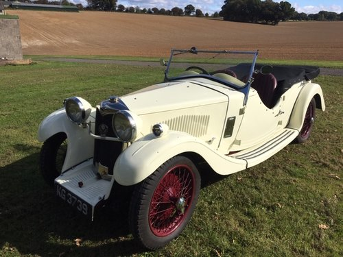1934 Riley Nine Lynx Four Seat Tourer - Now Reserved! SOLD (picture 1 of 6)