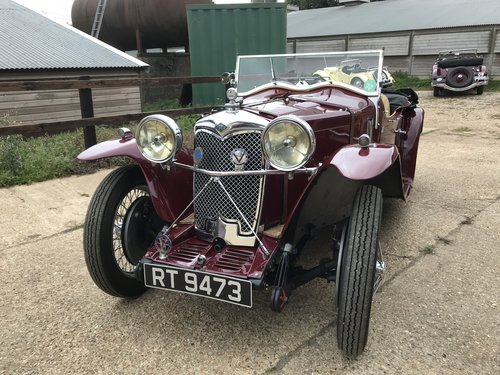 1933 Riley Nine March Special - requires recommissioning SOLD (picture 1 of 6)