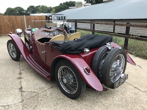 1933 Riley Nine March Special - requires recommissioning SOLD (picture 2 of 6)