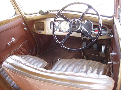1937 Riley 12/4 Adelphi saloon For Sale (picture 3 of 6)